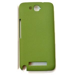 Матовый пластиковый чехол с защитой от царапин для Alcatel One Touch Hero Зеленый