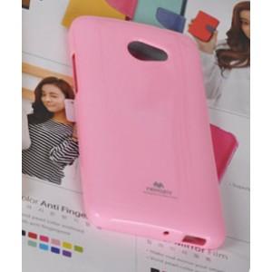Силиконовый чехол премиум для HTC Butterfly S Розовый