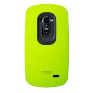 Силиконовый удароабсорбирующий чехол премиум для LG G Flex Зеленый