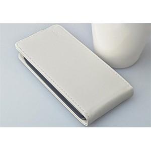 Кожаный чехол книжка вертикальная для Lenovo IdeaPhone S720