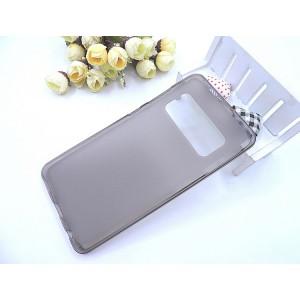 Силиконовый матовый полупрозрачный чехол для ASUS ZenFone AR Серый
