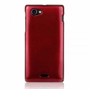 Чехол силиконовый для Sony Xperia J ST26i Красный