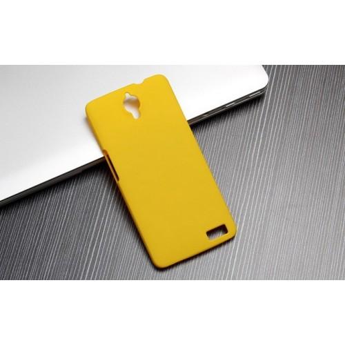 Пластиковый матовый непрозрачный чехол для Alcatel One Touch Idol X+