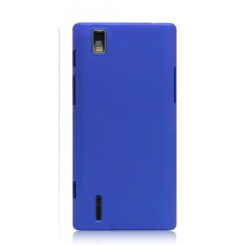 Пластиковый чехол для Huawei Ascend P2 Синий