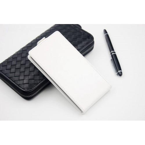 Чехол вертикальная книжка для Alcatel One Touch Idol Ultra Белый