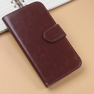 Чехол портмоне подставка на клеевой основе с магнитной застежкой для ZTE Blade L4