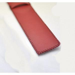 Кожаный мешок для стилуса Apple Pencil закрытого типа Красный