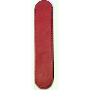 Кожаный мешок открытого типа для Apple Pencil Красный