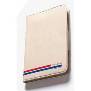 Чехол портмоне подставка серия Sport Lines для LG G Pad 8.3 Бежевый