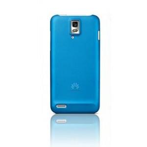 Пластиковый чехол оригинальный для Huawei Ascend D1 Голубой