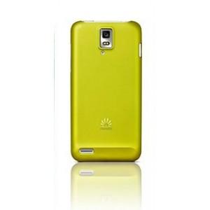 Пластиковый чехол оригинальный для Huawei Ascend D1 Желтый