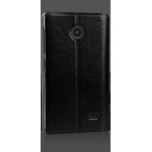 Чехол флип-водоотталкивающий для Nokia X / X+ Черный