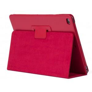 Чехол подставка с рамочной защитой серия Full Cover для Ipad Air 2 Красный