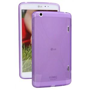 Силиконовый чехол X для LG G Pad 8.3 Фиолетовый