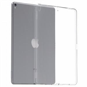 Силиконовый глянцевый транспарентный чехол для Ipad Pro 10.5/Ipad Air (2019)
