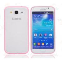 Силиконовый бампер для Samsung Galaxy Mega 5.8 (i9150 i9152) Пурпурный