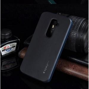 Двухкомпонентный чехол повышенной защиты с поликарбонатным бампером и силиконовой накладкой для LG Optimus G2