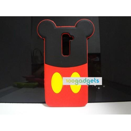 Силиконовый дизайнерский фигурный чехол серия Disney backs для LG Optimus G2