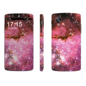Набор виниловых матовых наклееек на все поверхности серия Космос для Google LG Nexus 5
