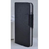 Чехол флип подставка с магнитной застежкой для HTC Desire 300 Черный