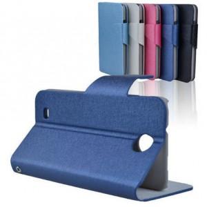Чехол флип подставка с магнитной застежкой для HTC Desire 300