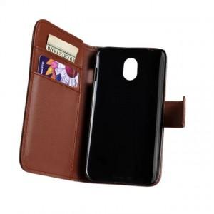 Чехол портмоне подставка с защелкой для HTC Desire 210 Коричневый