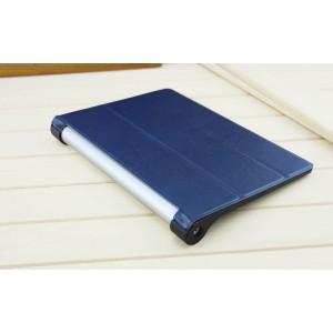 Чехол флип подставка сегментарный на поликарбонатной основе для Lenovo Yoga Tablet 2 8