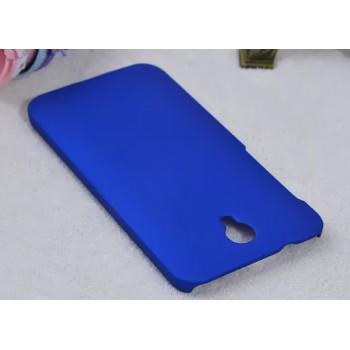 Пластиковый матовый металлик чехол для Alcatel One Touch Idol 2