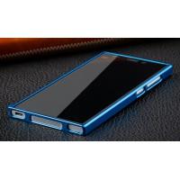Металлический бампер для Xiaomi MI3 Синий