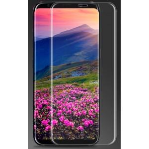 Ультратонкая износоустойчивая сколостойкая олеофобная защитная объемная стеклянная панель на плоскую и изогнутые поверхности экрана для Samsung Galaxy S8