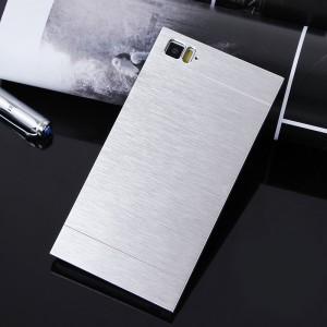 Пластиковый чехол с металлическим внешним слоем для Xiaomi MI3