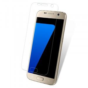 Ультратонкое износоустойчивое сколостойкое олеофобное защитное стекло-пленка для Samsung Galaxy S7