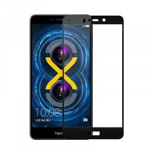 Полноэкранное ультратонкое износоустойчивое сколостойкое олеофобное защитное стекло-пленка для Huawei Honor 6X