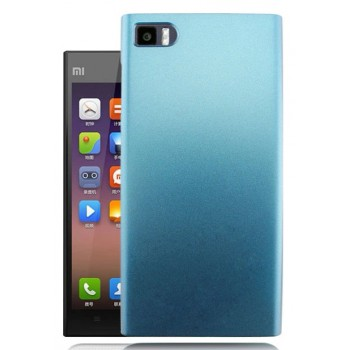 Пластиковый матовый чехол для Xiaomi MI3