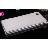 Силиконовый матовый полупрозрачный чехол для Xiaomi MI3 Белый