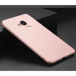 Силиконовый матовый непрозрачный чехол для Huawei Honor 6C Pro