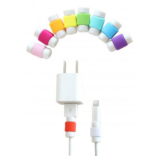 Противоизносный кабельный зажим дизайн Леденец Фиолетовый