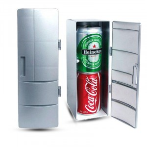 Портативный USB-холодильник с экстра-функцией нагрева (диапазон от 10 до 50 С)