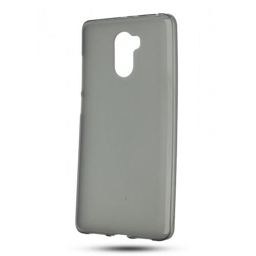 Силиконовый матовый полупрозрачный чехол для Xiaomi RedMi 4 Белый