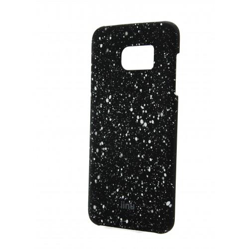 Пластиковый матовый дизайнерский чехол с голографическим принтом Звезды для Samsung Galaxy S7 Edge Красный