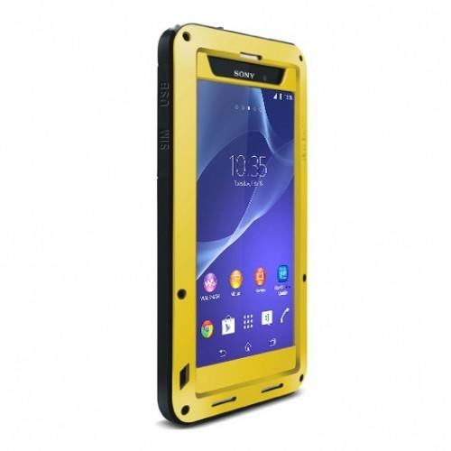 Ультразащитный экстрим металлический чехол для Sony Xperia Z2