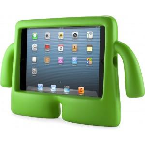 Детский ультразащитный гиппоаллергенный силиконовый фигурный чехол для планшета Ipad Mini 1/2/3 Зеленый