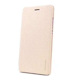 Чехол флип на пластиковой матовой нескользящей основе для Huawei P8 Lite