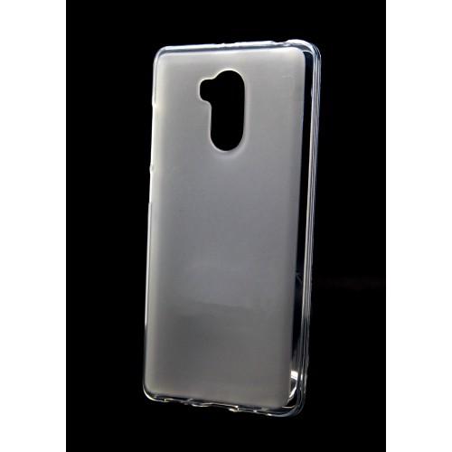 Силиконовый матовый полупрозрачный чехол для Xiaomi RedMi 4 Pro Черный