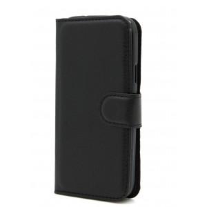 Чехол портмоне подставка на силиконовой основе на магнитной защелке для Samsung Galaxy S4 Mini