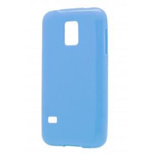 Силиконовый глянцевый непрозрачный чехол для Samsung Galaxy S5 Mini
