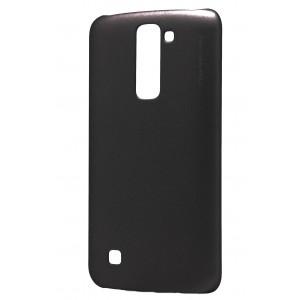 Пластиковый матовый металлик чехол для LG K7