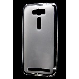 Силиконовый матовый полупрозрачный чехол для ASUS Zenfone 2 Laser 5 ZE500KL Белый