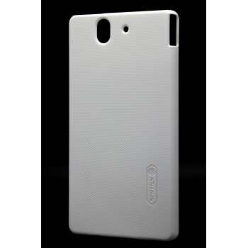 Чехол пластиковый матовый для Sony Xperia Z Белый