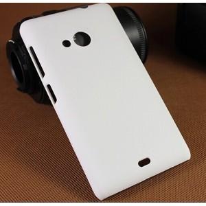 Пластиковый матовый непрозрачный чехол для Microsoft Lumia 535